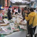 魚市場コーナーの様子